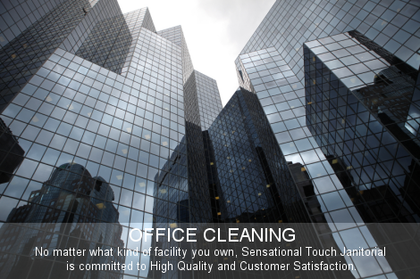 Office Cleaning - Class A Commercial Cleaning Triad, Greensboro, Winston-Salem, Kernersville - Janitorial Services - Facility Cleaning - Sensational Touch Janitorial